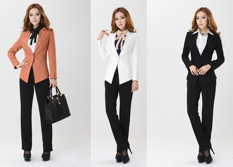 formal-female-pant-suits-for-women-business-sets-plus-size-slim ...