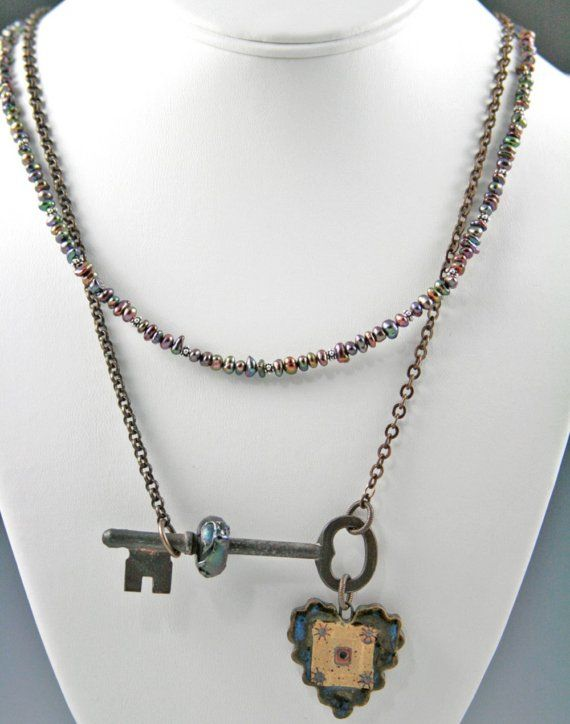 Another lovely key necklace