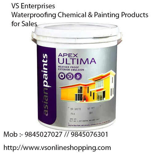 Asian Paints Apex Ultima Is A Water Based 100 Acrylic Smooth