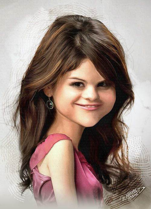 Selena gomez caricature amusantes caricatures - Selena gomez dessin ...