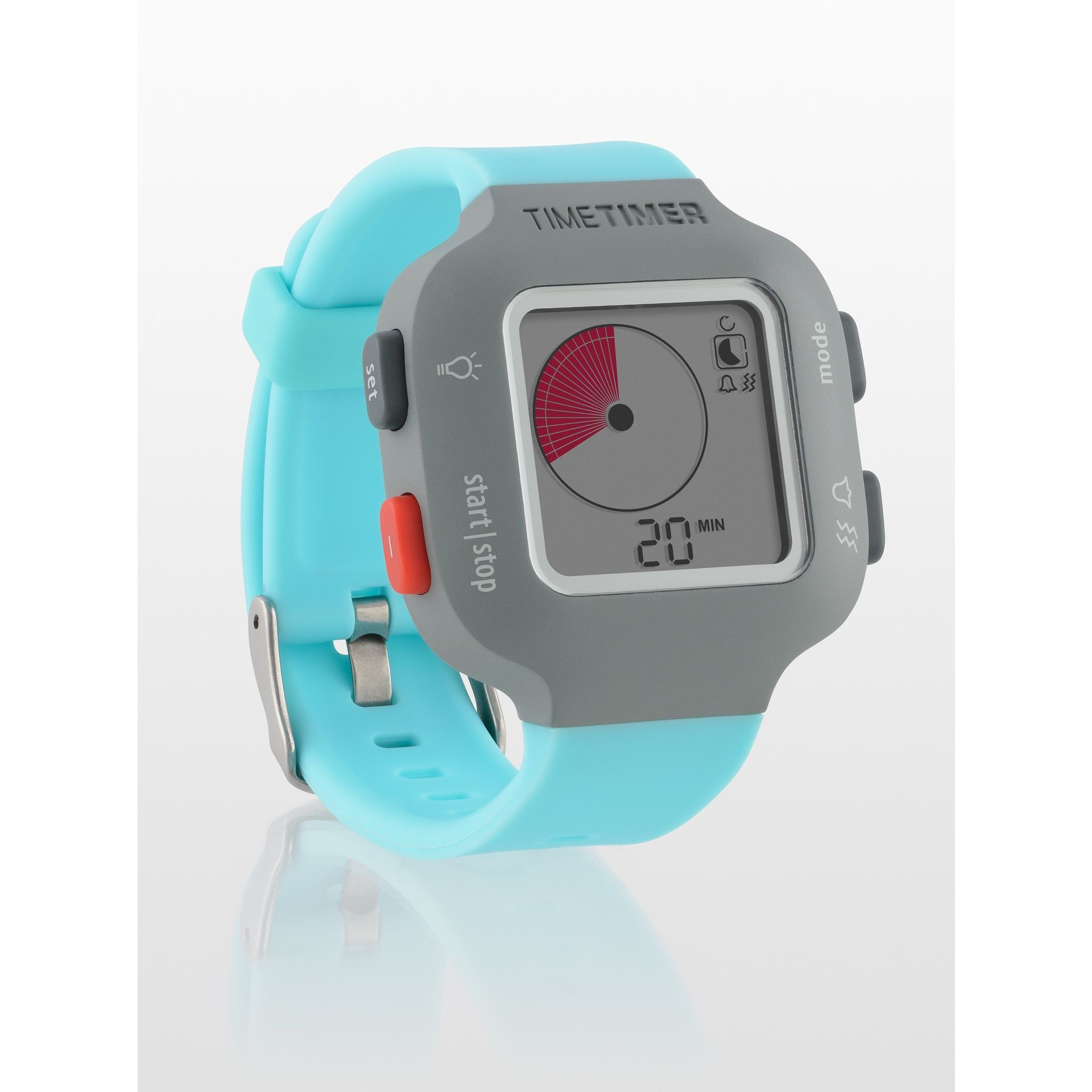 The Time Timer Watch PLUS Sky Blue Small Personal Time