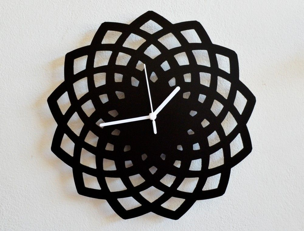 Modern If You Go For That Clock Wall Decor Wall Clock