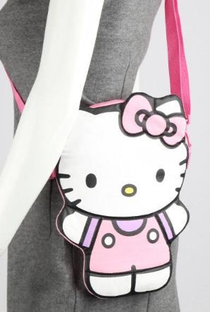 All Ages Can Enjoy This Delightful Cut Okitty Crossbody Bag