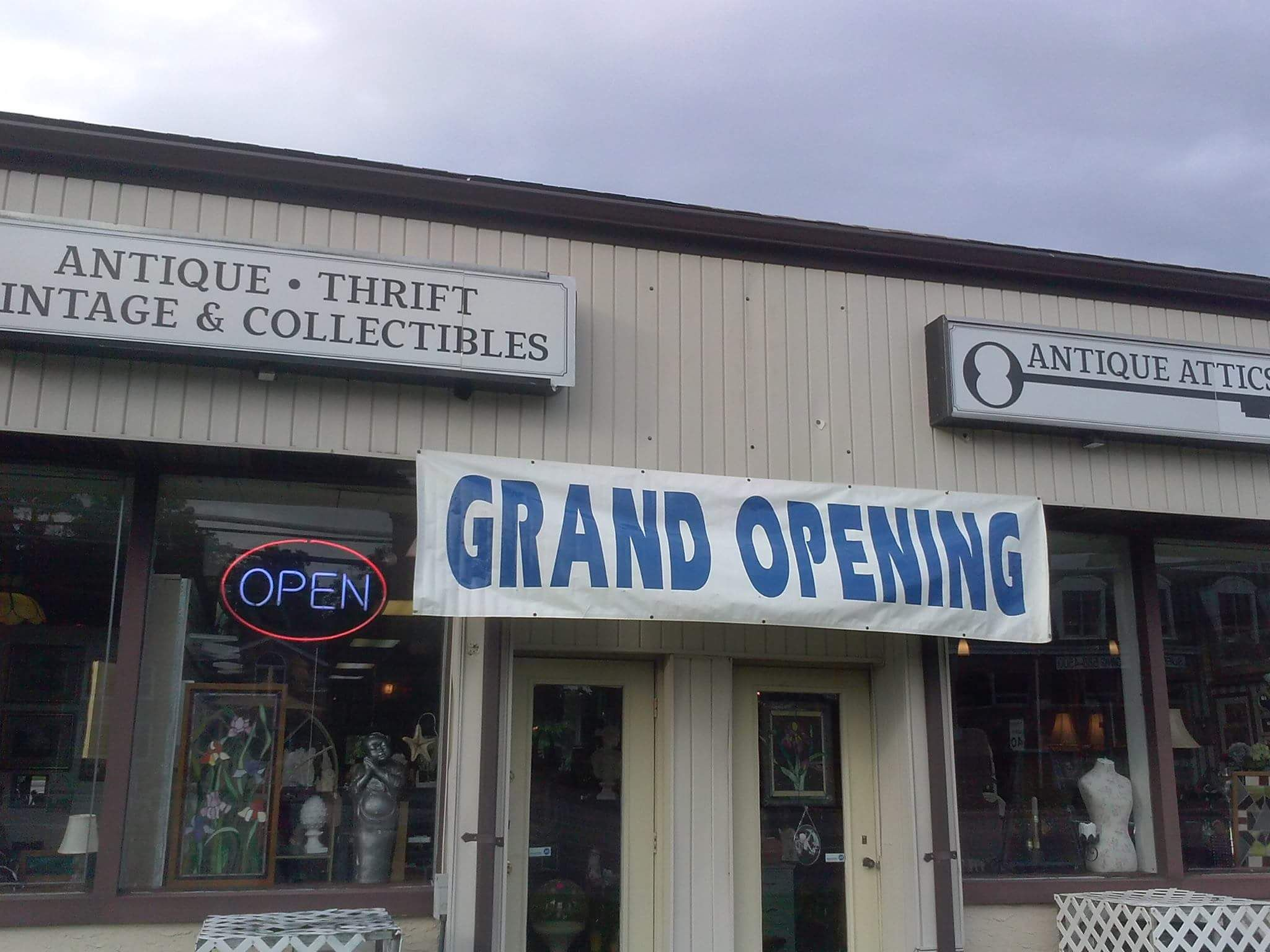 Grand Opening At Antique Attics Lake Grove Grand Opening Grands