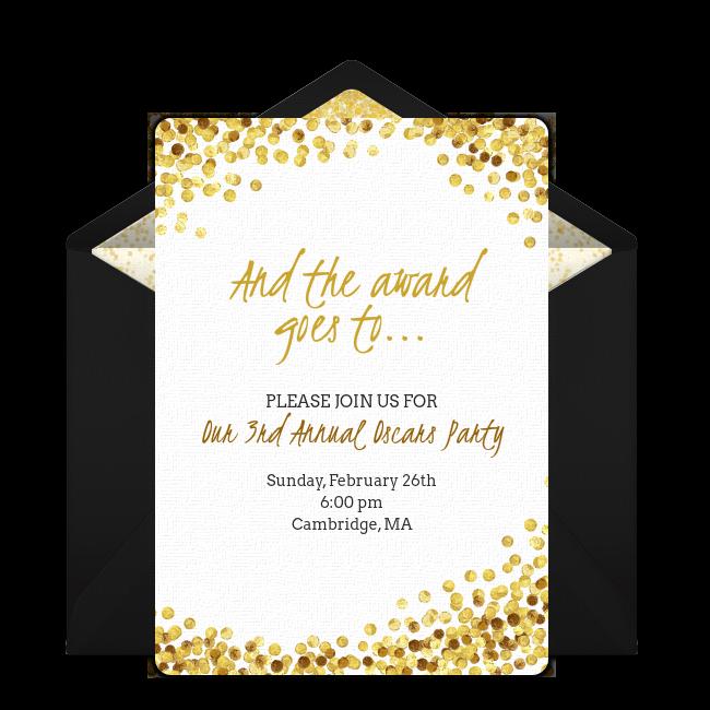 Free Awards Night Invitations Invitations Invitation Template Awards Night