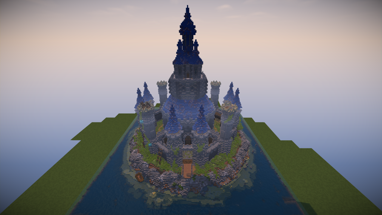 Hyrule Castle Minecraft Project Castle Minecraft Minecraft Projects