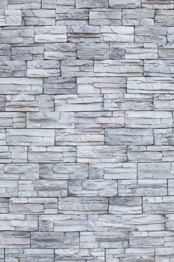 textured grey bricks wall mural paper square blue on brick wall id=89238