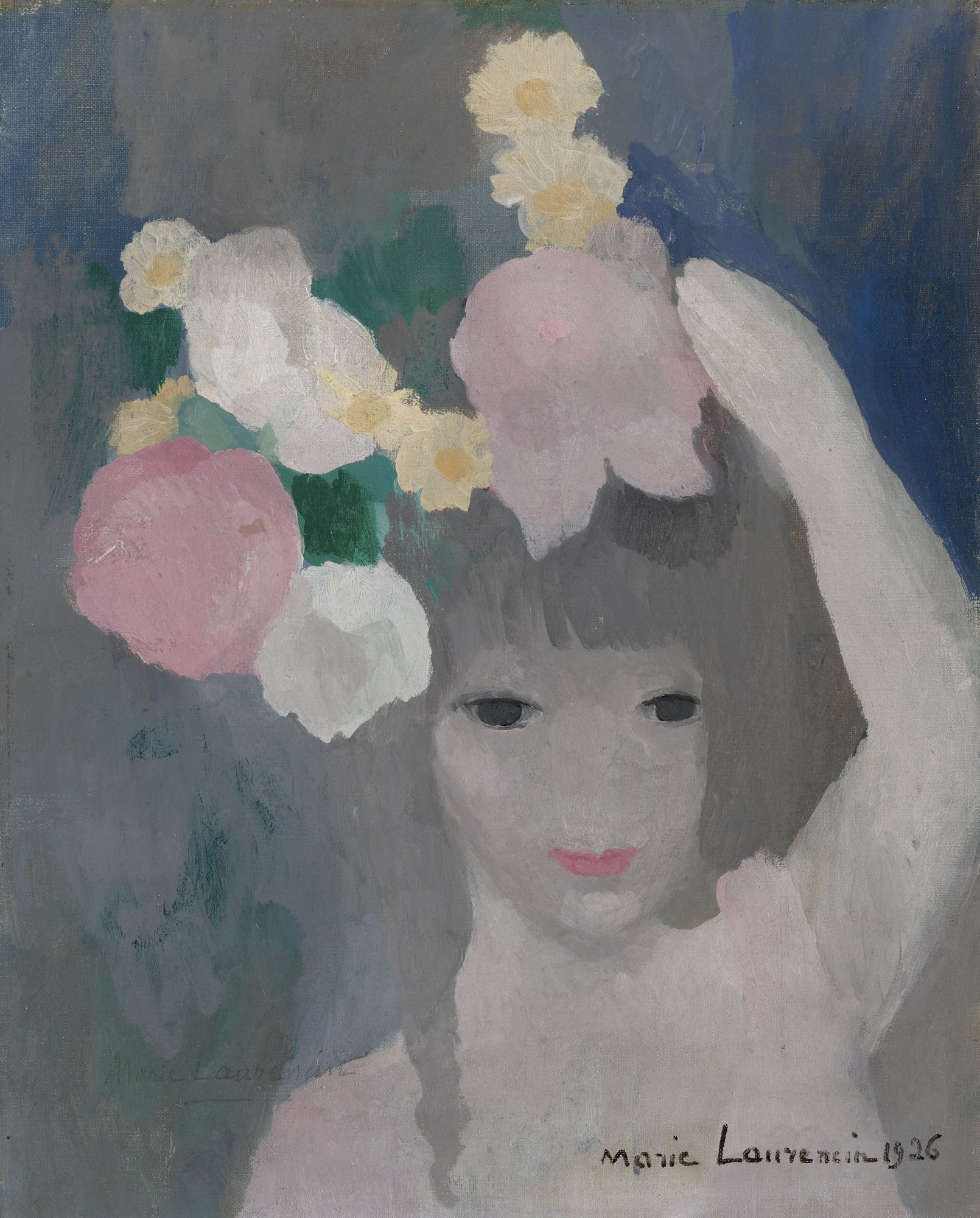 Marie Laurencin Fillette Coiffee Art Impressionist Art Art Day