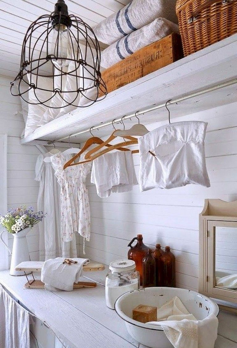 80 Amazing Small Farmhouse Laundry Room Decor Ideas Page 31 Of
