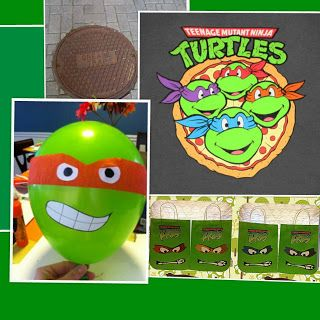Teenage Mutant Ninja Turtle Party Inspiration Ninja Turtles Birthday Party Ninja Turtle Party Teenage Mutant Ninja Turtles Party
