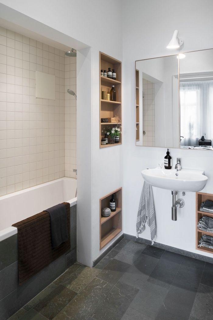1001 astuces pour am nager une petite salle de bain avec Baignoire pour petite salle de bain