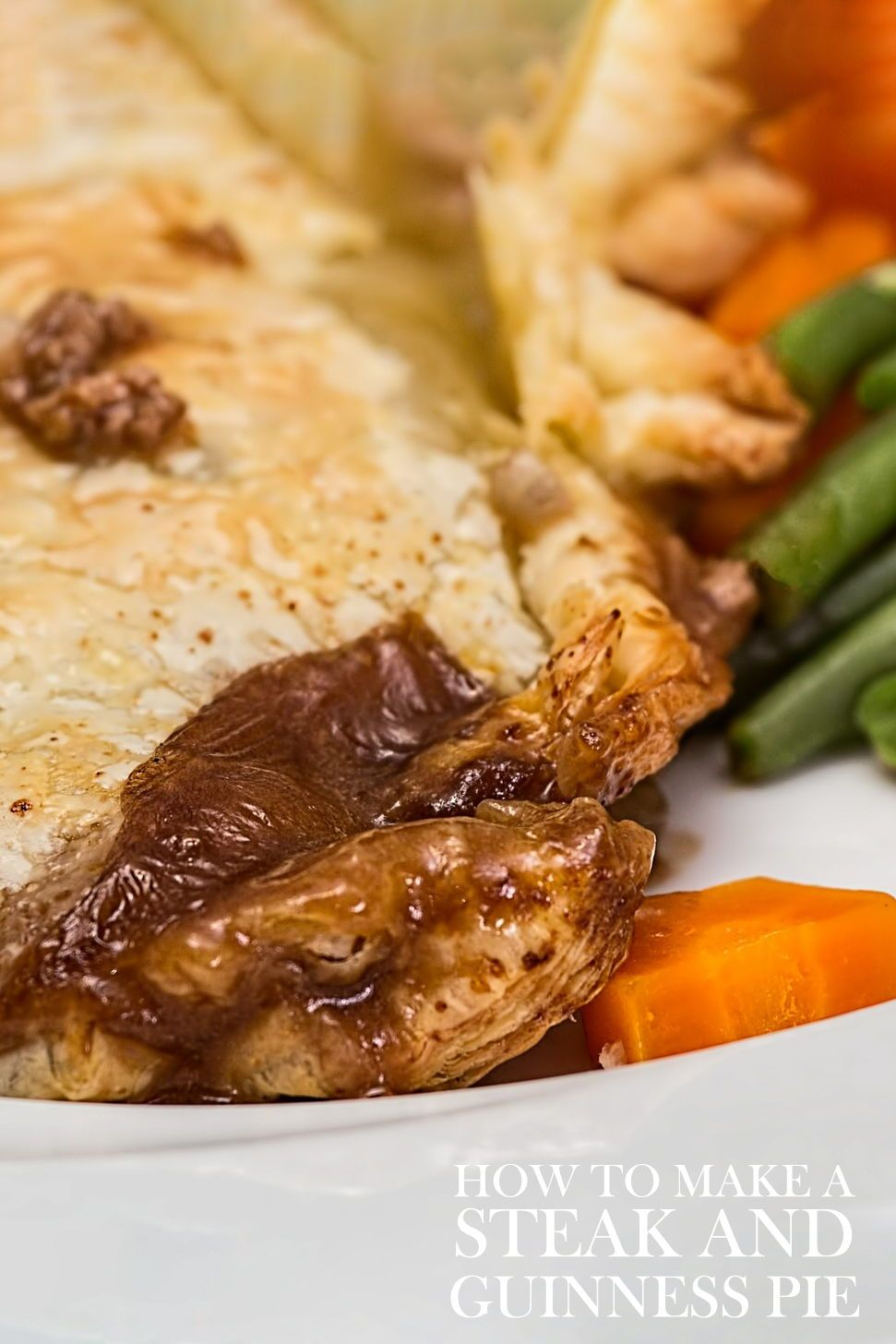 How to make a steak and Guinness pie   Steak and guinness ...