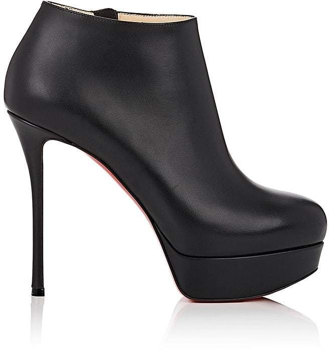 Womens Dirdibootie Leather Platform Ankle Booties Christian Louboutin E0fIgIK0