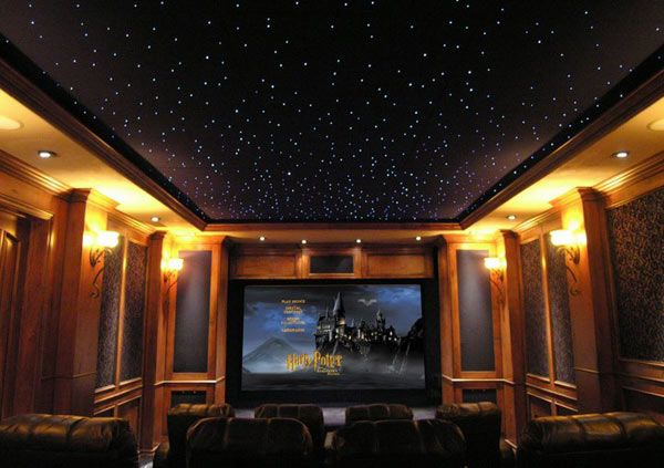 ©CinemaShop Star Ceilings | Starry ceiling, Home theater ...