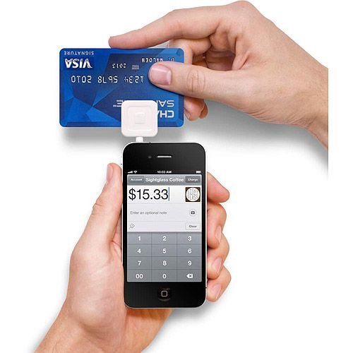 Cell Phones Mobile credit card, Square credit card