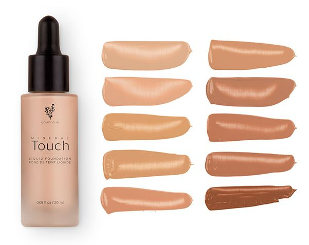 touch liquid foundation this smooth foundation goes on liquid and