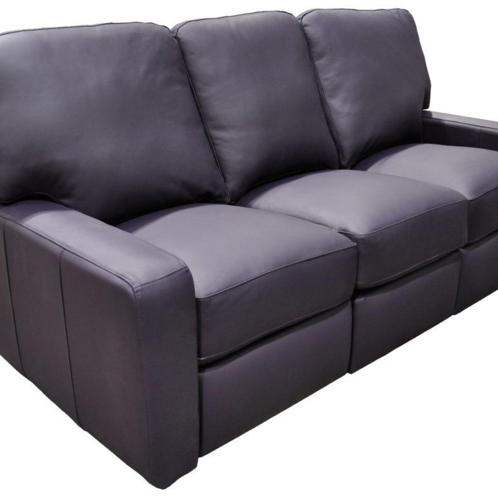 Bauhaus Collection Leather Reclining Sofa