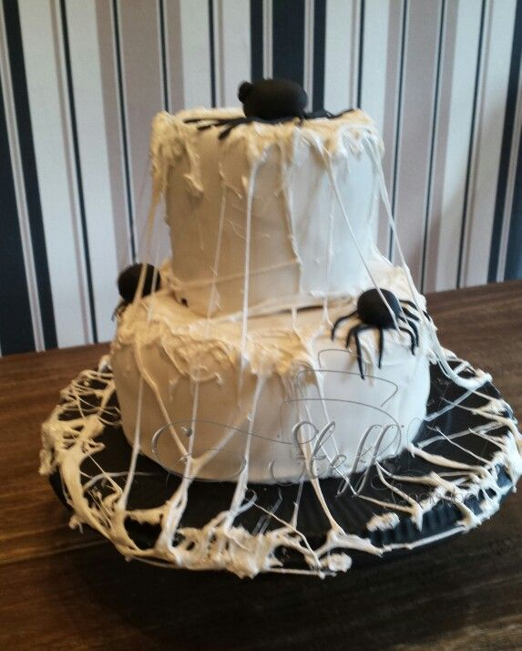 Spider Halloweencake