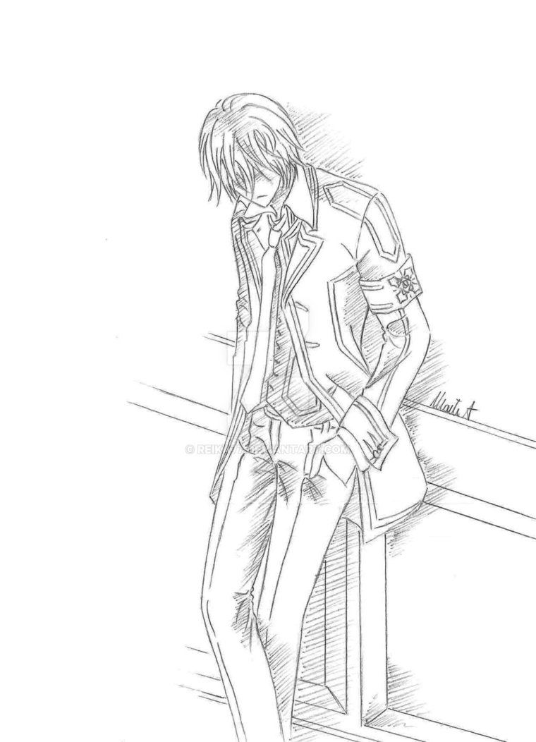 Zero Vampire Knight By Reika77 Deviantart Com On Deviantart Vampireknight Zero Kiryu Vampire Vampire Knight Vampire Knight