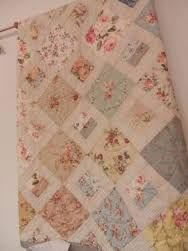 Image result for faded quilt pink white