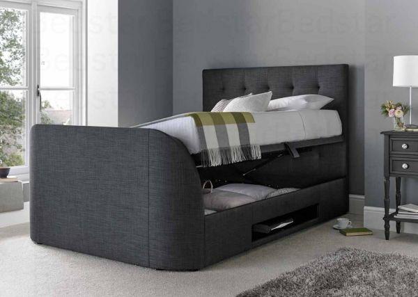 Magnificent Mw Kaydian Design Barnard 5Ft Kingsize Ottoman Tv Bed Forskolin Free Trial Chair Design Images Forskolin Free Trialorg