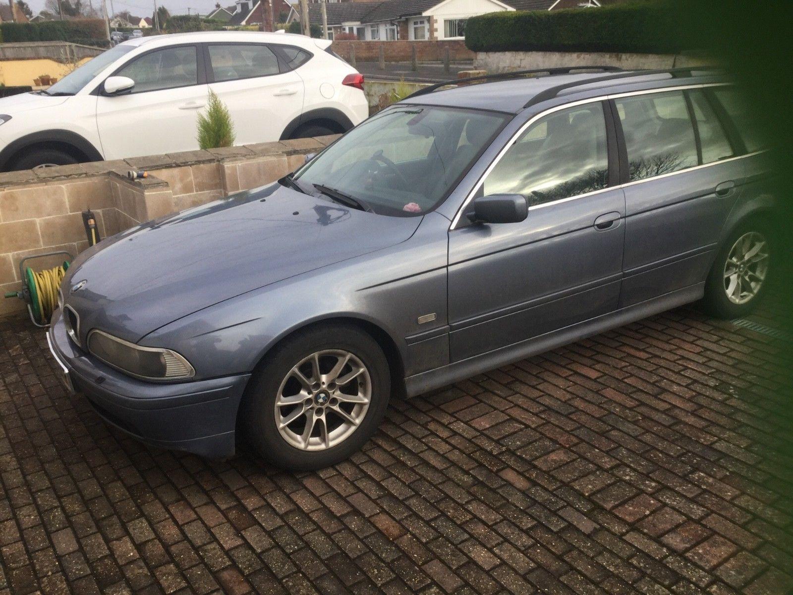 BMW 525d Touring Spares repair UK Salvage Cars