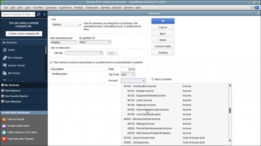 Create Service Items In Quickbooks Desktop Pro Instructions And Video Quickbooks Quickbooks Training Quickbooks Tutorial
