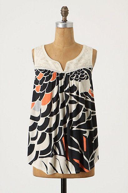 huipil tank, anthropologie, $78 | Fashion for Ladies | Pinterest | Nähen