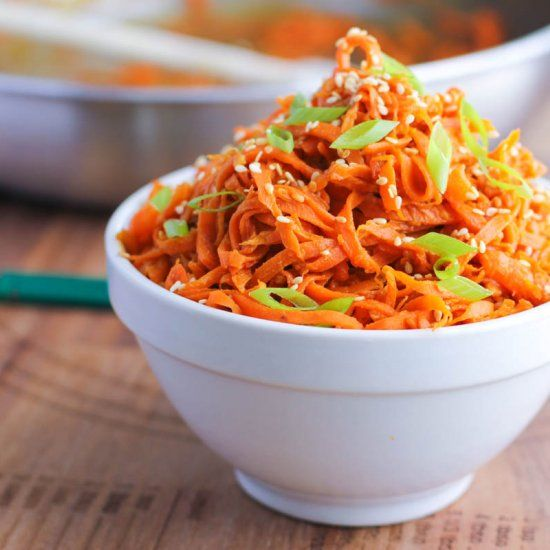 To Lighten Up Traditional Spicy Peanut Noodles Try Using