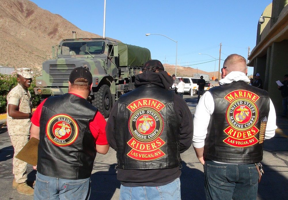 Las Vegas Toys For Tots : Marine riders las vegas marine corps reserves toys for tots our