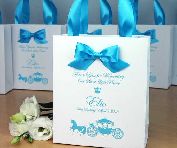 1st Birthday Gift Bags For Favors Personalized Thank Your Bag Etsy In 2020 1st Birthday Party Favors First Birthday Party Favor Party Favors Baby Birthday