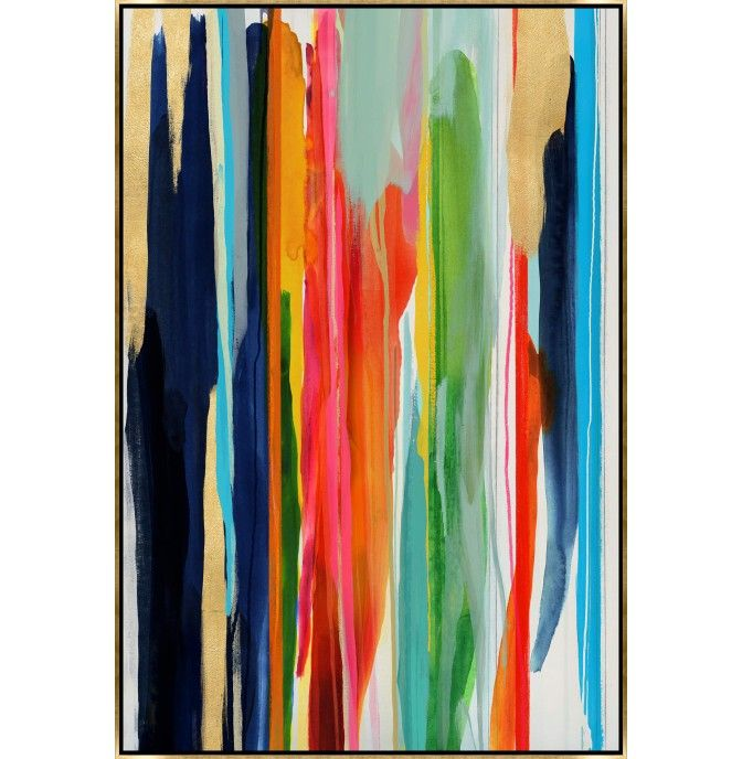 Chromatic falls framed artwork is a realistic painted look to giclees and prints on canvas find this pin and more on high fashion home