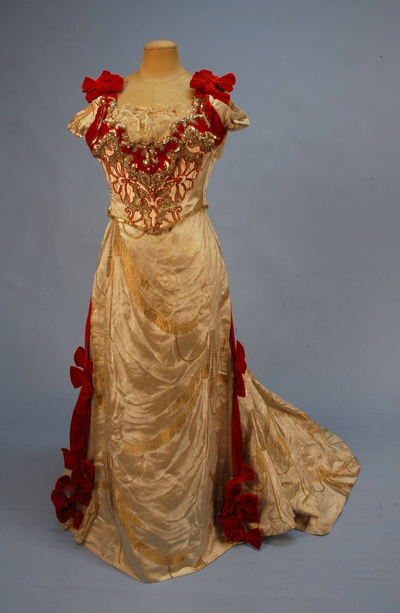Evening dress s whitaker auctions victorian evening