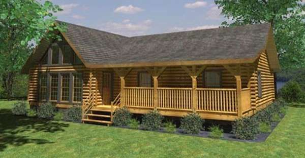When You Spend Time In A Cabin Like This You Can T Help But Feel Relaxed Click For Floor Plan Log Home Plans Log Home Floor Plans Log Home Plan