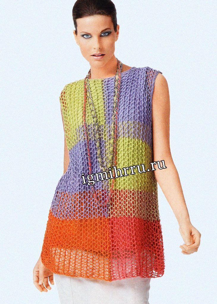 267.jpg (730×1020) | Gigi | Pinterest | Crochet, Crochet tunic and ...