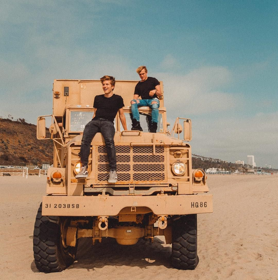 so... we bought a military truck  @jakepaul by alexlange