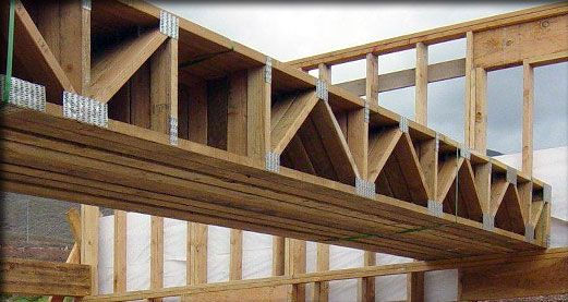 Engineered floor trusses truss systems hawaii www for Cost for roof trusses