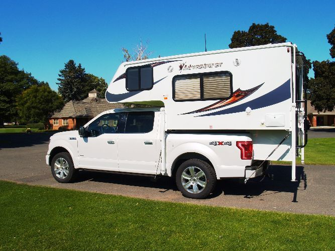 Adventurer Truck Camper Model 80gs Truck Campers Pinterest