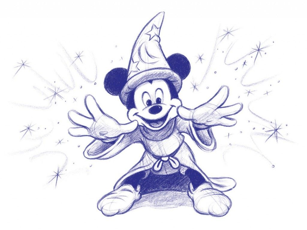 Mickey Mouse Art | Disney sketches, Mickey mouse drawings ...