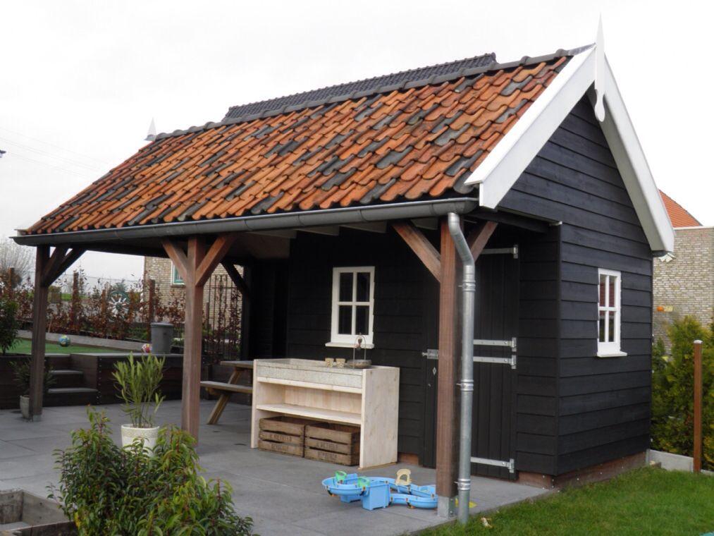Veranda Met Schuur : Veranda aan de schuur veranda veranda tuinhuis