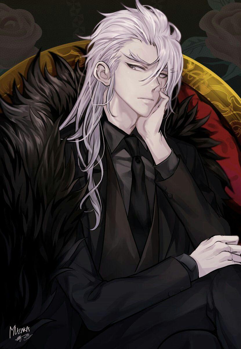 Lord Muzaka Anime Guys Dark Anime Guys Handsome Anime Guys