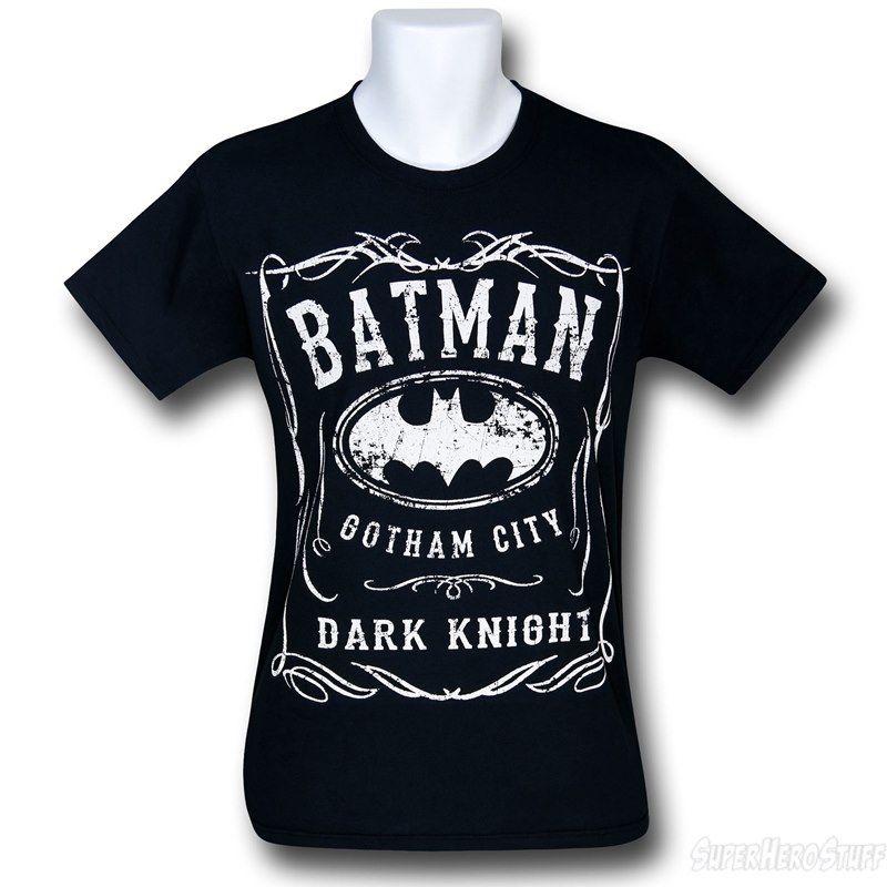 Extrêmement Batman Dark Knight Gotham Logo T-Shirt | Batman dark, Dark knight  EG17