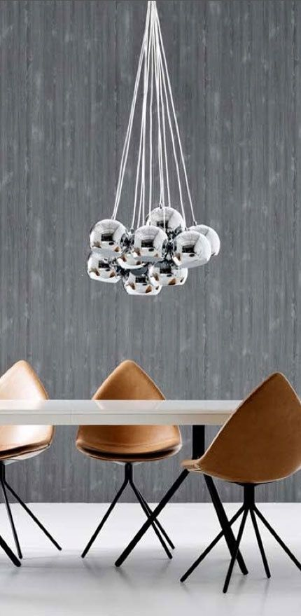 Je Pourrais Simplement Copier Ce Concept En Groupant Plusieurs Ampoules Au Dessus De Ma Table De Salle A Manger Bo Modern Furniture Dining Room Design Decor