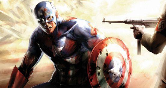 Captain America by Agustin Graham #superhero