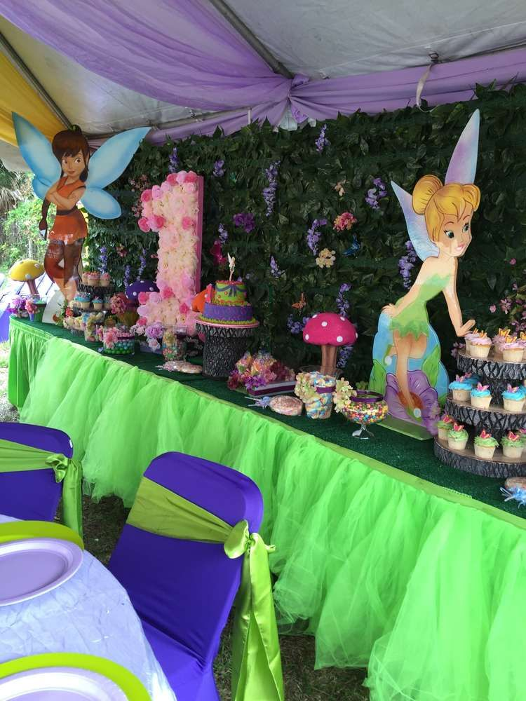 Tinkerbell And Friends Birthday Party Ideas Alyssas 3rd