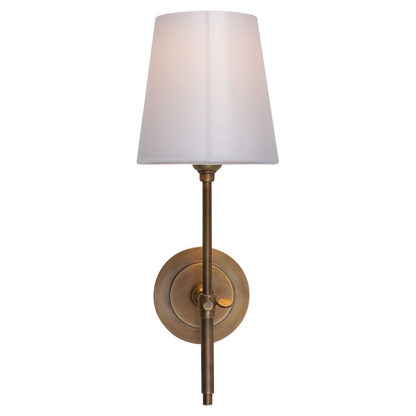 Buy bryant sconce circa lighting - Visual Comfort Tob2022hab Wg Thomas O Brien Bryant Sconce In Hand Rubbed Antique