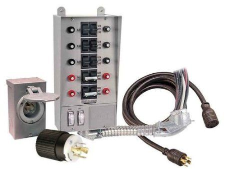 Hook Your Generator Up To Your House Generator Transfer Switch Transfer Switch Power Inlets