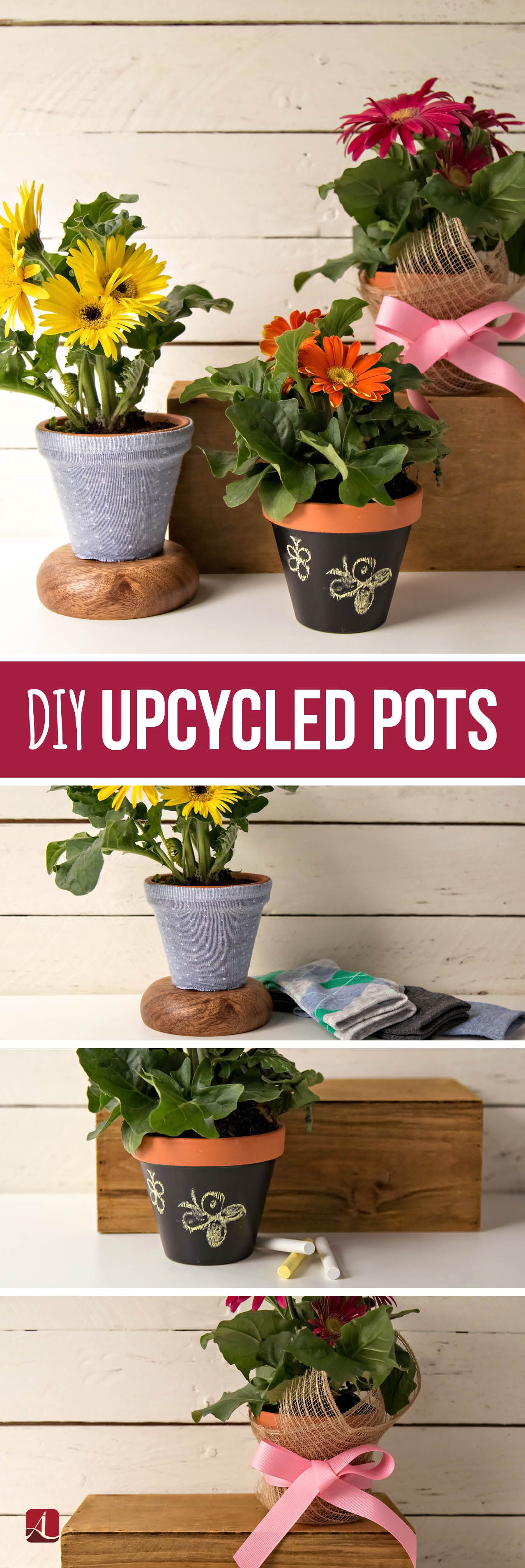 Let Love Bloom With 3 Potted Plant Crafts - Diy