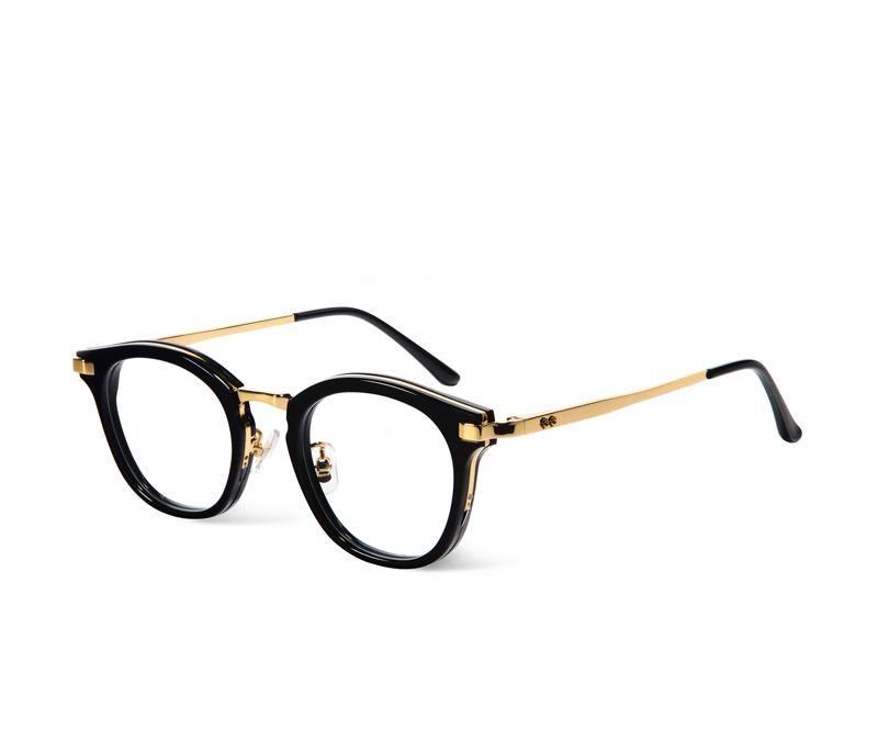 Korea eyeglasses rigo Round Frame Glasses Frame V logo Retro Women ...