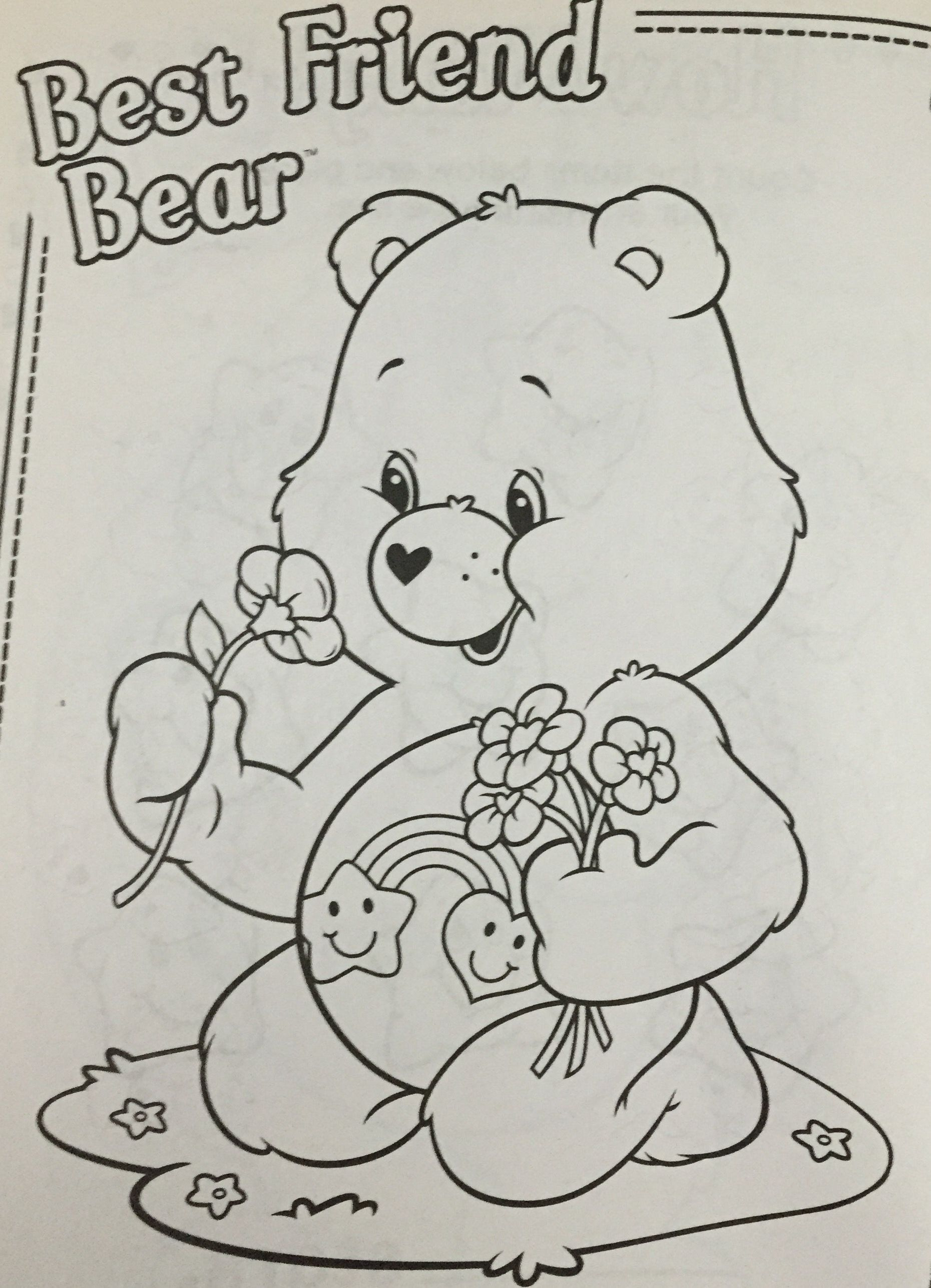 28 Beautiful Care Bears Coloring Pages In 2020 Bear Coloring Pages Cute Coloring Pages Coloring Pages
